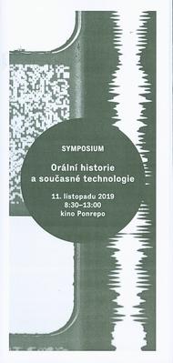 Orální historie a současné technologie